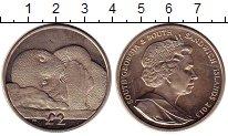 Изображение Монеты Сендвичевы острова 2 фунта 2013 Медно-никель UNC- Пингвин Елизавета II