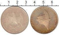 Изображение Монеты ФРГ 10 марок 1994 Серебро UNC- Покушение на жизнь Г