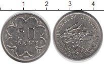 Изображение Монеты Центральная Африка 50 франков 1979 Медно-никель XF