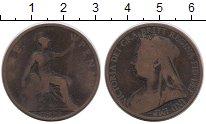 Изображение Монеты Великобритания 1 пенни 1897 Бронза VF Виктория