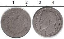 Изображение Монеты Франция 1 франк 1867 Серебро VF