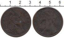 Изображение Монеты Великобритания 1 пенни 1878 Бронза VF Королева Виктория