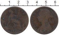 Изображение Монеты Великобритания 1 пенни 1889 Бронза VF Виктория