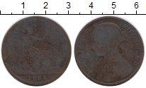Изображение Монеты Великобритания 1 пенни 1886 Бронза VF Виктория