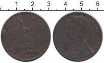 Изображение Монеты Великобритания 1 пенни 1876 Бронза VF