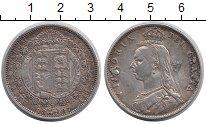 Изображение Монеты Великобритания 1/2 кроны 1887 Серебро VF Виктория (следы напа