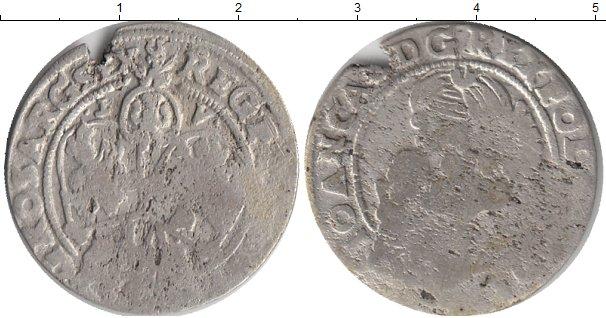 Картинка Монеты Польша 6 грошей Серебро 0