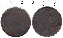 Изображение Монеты Великобритания 1/2 пенни 0 Медь F Георг II