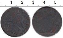 Изображение Монеты Великобритания 1/2 пенни 1775 Медь VF Георг III
