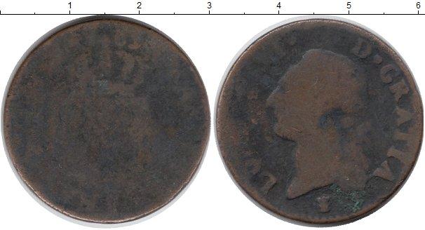 Картинка Монеты Франция 1 соль Медь 0