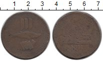 Изображение Монеты Великобритания 1 пенни 1811 Медь VF Токен. Корнуолл