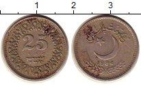 Изображение Монеты Пакистан 25 пайс 1984 Медно-никель XF