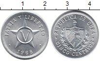 Изображение Монеты Куба 5 сентаво 1968 Алюминий UNC
