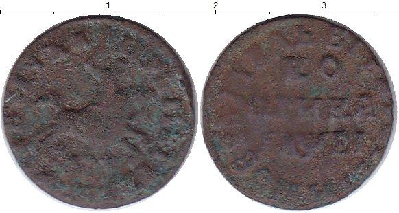 Картинка Монеты 1689 – 1725 Петр I 1 копейка Медь 1715