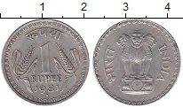 Изображение Монеты Индия 1 рупия 1981 Алюминий XF