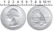 Изображение Монеты США 1/4 доллара 2014 Серебро UNC