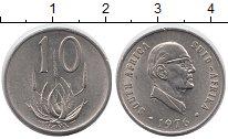 Изображение Монеты ЮАР 10 центов 1976 Медно-никель UNC-