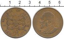 Изображение Монеты Кения 10 центов 1968 Латунь XF-