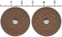 Изображение Монеты Великобритания Родезия 1 пенни 1958 Бронза XF