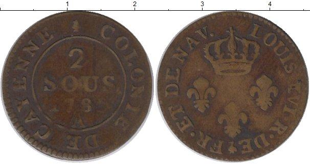 Картинка Монеты Франция 2 су Медь 1789