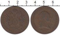 Изображение Монеты Австрия 6 крейцеров 1800 Медь XF- Франц II