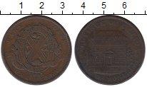 Изображение Монеты Канада 1 пенни 1842 Медь VF+
