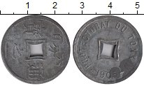 Изображение Монеты Вьетнам 1/600 пиастра 1905 Цинк XF Протекторат Тонкин