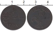 Изображение Монеты Малайя 1 кеппинг 1831 Медь XF Малакка