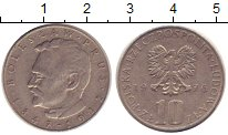 Изображение Дешевые монеты Польша 10 злотых 1976 Медно-никель XF