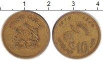 Изображение Дешевые монеты Марокко 10 сантим 1974 Медь XF