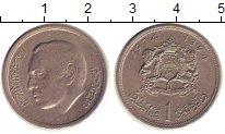 Изображение Дешевые монеты Марокко 1 франк 1974 Медно-никель XF