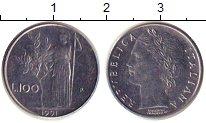 Изображение Дешевые монеты Италия 100 лир 1991 Медно-никель