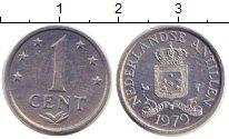 Изображение Дешевые монеты Нидерланды Антильские острова 1 цент 1979 Алюминий XF