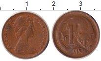 Изображение Дешевые монеты Австралия 1 цент 1975 Медь VF