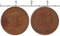 Изображение Дешевые монеты Мексика 5 сентаво 1973 Медь VF