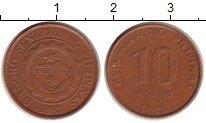 Изображение Дешевые монеты Филиппины 10 сентим 1996 Медь XF