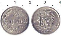 Изображение Дешевые монеты Люксембург 25 сентим 1970 Алюминий XF