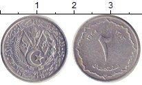 Изображение Дешевые монеты Алжир 2 сантима 1964 Алюминий VF