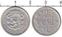 Изображение Дешевые монеты Люксембург 25 сентим 1954  VF