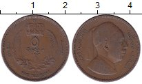 Изображение Монеты Ливия 5 миллим 1952 Бронза XF