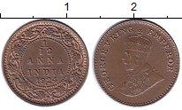 Изображение Монеты Индия 1/12 анны 1924 Бронза XF+