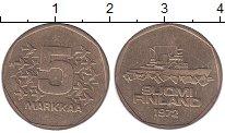 Изображение Монеты Финляндия 5 марок 1972 Латунь XF