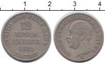 Изображение Монеты Германия Ганновер 1/12 талера 1852 Серебро XF-