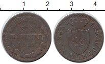 Изображение Монеты Германия Нассау 1 крейцер 1832 Медь VF