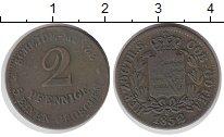 Изображение Монеты Германия Саксе-Кобург-Гота 2 пфеннига 1852 Медь VF