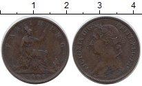Изображение Монеты Великобритания 1 фартинг 1891 Бронза XF