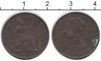 Изображение Монеты Великобритания 1 фартинг 1893 Бронза XF-