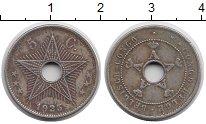 Изображение Монеты Бельгийское Конго 5 сантим 1925 Медно-никель XF-