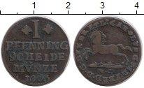 Изображение Монеты Германия Брауншвайг-Люнебург 1 пфенниг 1803 Медь XF
