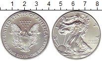 Изображение Монеты США 1 доллар 2017 Серебро UNC